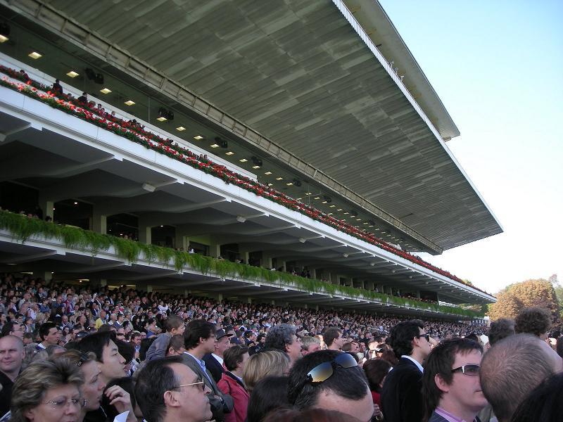 Prix de l'arc de Triomphe à Longchamp